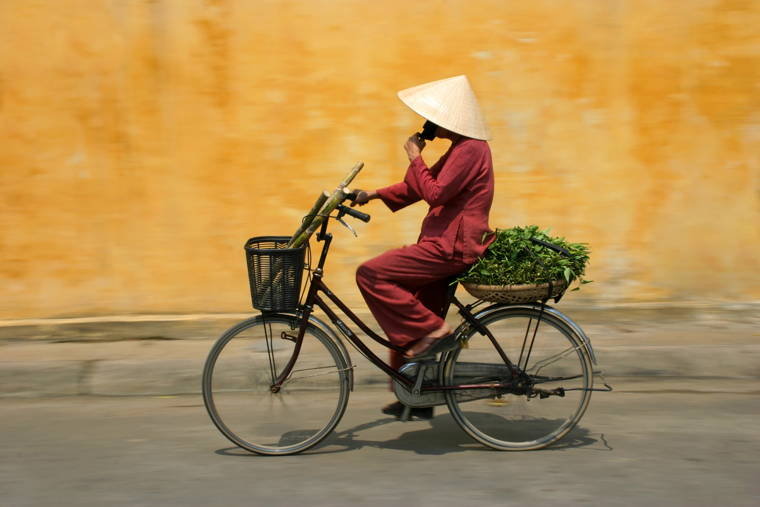 [Article image] [Funds Focus] [CEMP] Asian woman on bicycle